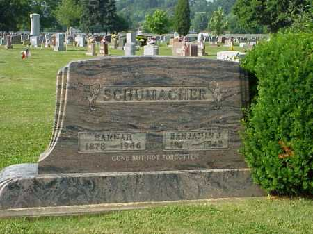 MERKEL SCHUMACHER, HANNAH - Tuscarawas County, Ohio | HANNAH MERKEL SCHUMACHER - Ohio Gravestone Photos