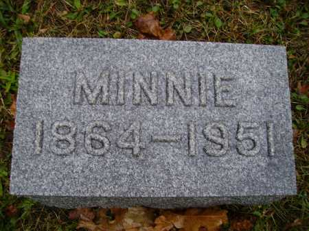 SCHUMAKER, MINNIE - Tuscarawas County, Ohio | MINNIE SCHUMAKER - Ohio Gravestone Photos