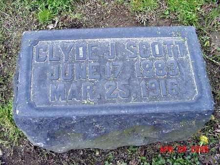 SCOTT, CLYDE J. - Tuscarawas County, Ohio   CLYDE J. SCOTT - Ohio Gravestone Photos