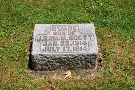 SCOTT, DWANE - Tuscarawas County, Ohio | DWANE SCOTT - Ohio Gravestone Photos
