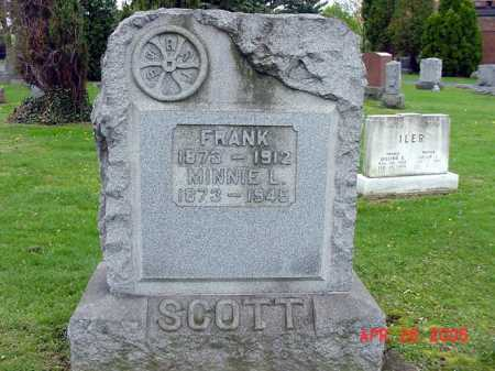 SCOTT, FRANK - Tuscarawas County, Ohio | FRANK SCOTT - Ohio Gravestone Photos