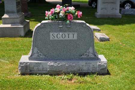 SCOTT, JOHN S. - Tuscarawas County, Ohio   JOHN S. SCOTT - Ohio Gravestone Photos