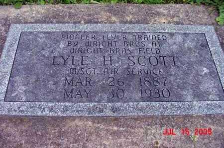 SCOTT, LYLE H. - Tuscarawas County, Ohio | LYLE H. SCOTT - Ohio Gravestone Photos