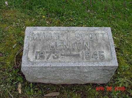 SCOTT, MINNIE L - Tuscarawas County, Ohio | MINNIE L SCOTT - Ohio Gravestone Photos