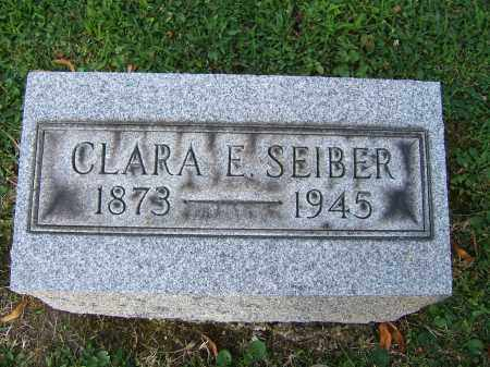 KEENER SEIBER, CLARA E - Tuscarawas County, Ohio | CLARA E KEENER SEIBER - Ohio Gravestone Photos