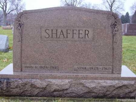 SHAFFER, SABINA LAVINA - Tuscarawas County, Ohio | SABINA LAVINA SHAFFER - Ohio Gravestone Photos