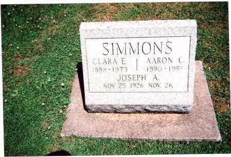 SIMMONS, JOSEPH A. - Tuscarawas County, Ohio | JOSEPH A. SIMMONS - Ohio Gravestone Photos