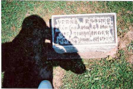 SINDLINGER, VERNA ESTHER - Tuscarawas County, Ohio   VERNA ESTHER SINDLINGER - Ohio Gravestone Photos
