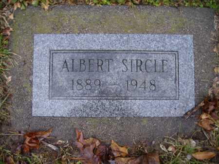 SIRCLE, ALBERT - Tuscarawas County, Ohio   ALBERT SIRCLE - Ohio Gravestone Photos