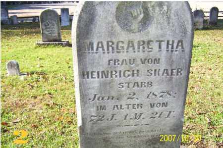 HAHN SKAER, MARGARETHA - Tuscarawas County, Ohio   MARGARETHA HAHN SKAER - Ohio Gravestone Photos