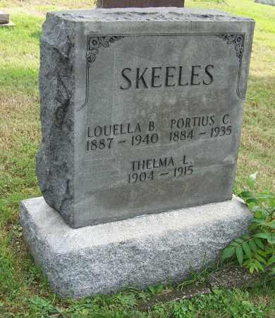 SKEELES, THELMA L. - Tuscarawas County, Ohio | THELMA L. SKEELES - Ohio Gravestone Photos