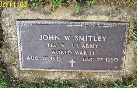 SMITLEY, JOHN W.  (MIL) - Tuscarawas County, Ohio   JOHN W.  (MIL) SMITLEY - Ohio Gravestone Photos