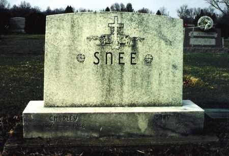 SNEE, CHARLEY - Tuscarawas County, Ohio | CHARLEY SNEE - Ohio Gravestone Photos