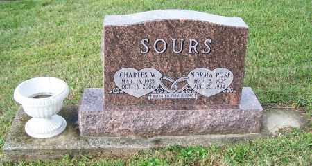 SOURS, CHARLES W. - Tuscarawas County, Ohio | CHARLES W. SOURS - Ohio Gravestone Photos