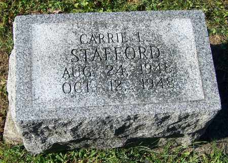 STAFFORD, CARRIE L. - Tuscarawas County, Ohio | CARRIE L. STAFFORD - Ohio Gravestone Photos