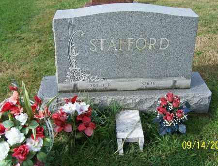 STAFFORD, SARAH A. - Tuscarawas County, Ohio   SARAH A. STAFFORD - Ohio Gravestone Photos