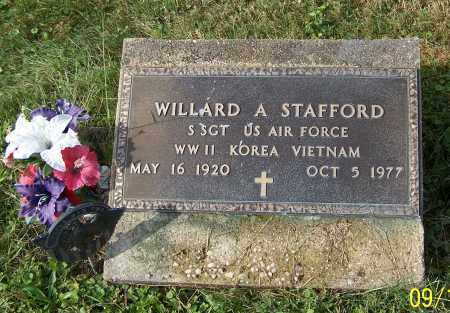 STAFFORD, WILLARD A. - Tuscarawas County, Ohio | WILLARD A. STAFFORD - Ohio Gravestone Photos