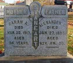 STANEART, ALEXANDER CRAWFORD - Tuscarawas County, Ohio | ALEXANDER CRAWFORD STANEART - Ohio Gravestone Photos
