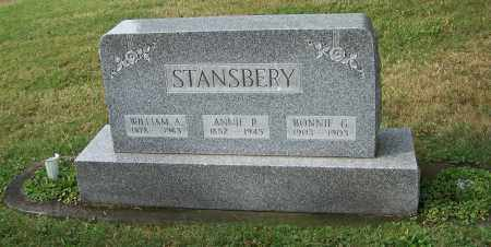 ROBY STANSBERY, ANNIE R. - Tuscarawas County, Ohio | ANNIE R. ROBY STANSBERY - Ohio Gravestone Photos