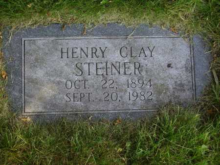 STEINER, HENRY CLAY - Tuscarawas County, Ohio | HENRY CLAY STEINER - Ohio Gravestone Photos