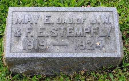 STEMPFLY, MAY E. - Tuscarawas County, Ohio | MAY E. STEMPFLY - Ohio Gravestone Photos