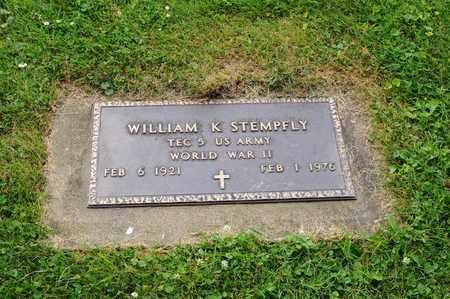 STEMPFLY, WILLIAM K. - Tuscarawas County, Ohio | WILLIAM K. STEMPFLY - Ohio Gravestone Photos