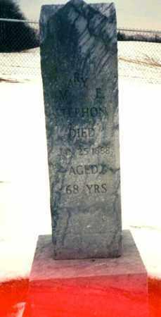 STEPHON, MARY E. - Tuscarawas County, Ohio | MARY E. STEPHON - Ohio Gravestone Photos