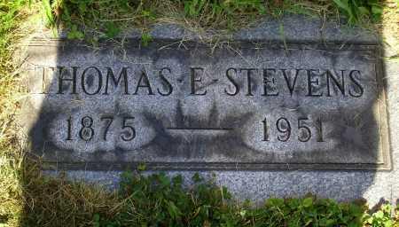 STEVENS, THOMAS EDWARD - Tuscarawas County, Ohio | THOMAS EDWARD STEVENS - Ohio Gravestone Photos