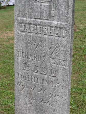 STOCKIER, JARUSHA - Tuscarawas County, Ohio | JARUSHA STOCKIER - Ohio Gravestone Photos