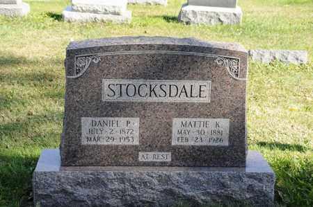 STOCKSDALE, DANIEL P. - Tuscarawas County, Ohio | DANIEL P. STOCKSDALE - Ohio Gravestone Photos