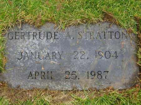 REISER STRATTON, GERTRUDE A. - Tuscarawas County, Ohio | GERTRUDE A. REISER STRATTON - Ohio Gravestone Photos