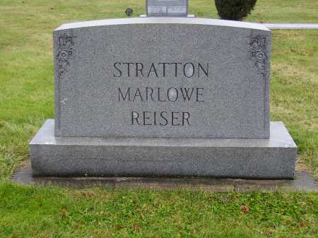 MARLOWE REISER STRATTON, FAMILY MONUMENT - Tuscarawas County, Ohio | FAMILY MONUMENT MARLOWE REISER STRATTON - Ohio Gravestone Photos