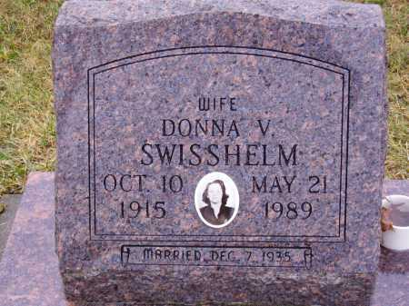 SWISSHELM, DONNA V. - Tuscarawas County, Ohio | DONNA V. SWISSHELM - Ohio Gravestone Photos