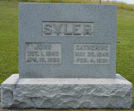 SYLER, JOHN - Tuscarawas County, Ohio | JOHN SYLER - Ohio Gravestone Photos