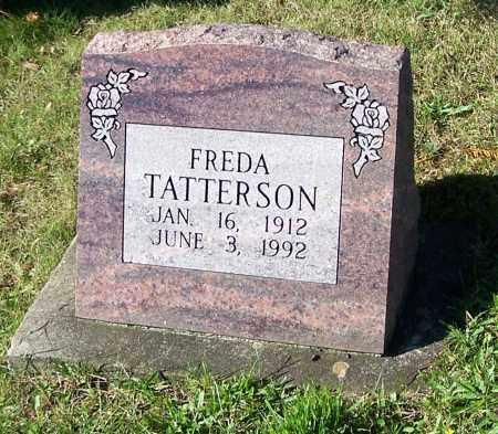 TATTERSON, FREDA - Tuscarawas County, Ohio   FREDA TATTERSON - Ohio Gravestone Photos