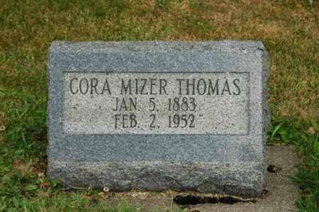 THOMAS, CORA - Tuscarawas County, Ohio | CORA THOMAS - Ohio Gravestone Photos