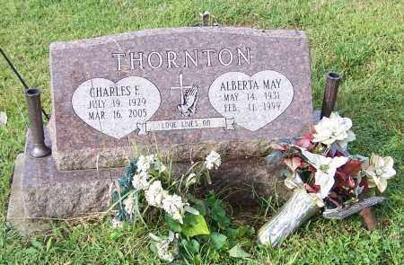 THORNTON, ALBERT MAY - Tuscarawas County, Ohio | ALBERT MAY THORNTON - Ohio Gravestone Photos