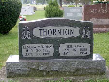 HANNA THORNTON, LENORA MILDRED - Tuscarawas County, Ohio | LENORA MILDRED HANNA THORNTON - Ohio Gravestone Photos