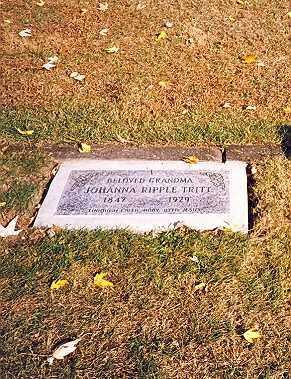 "TRITT, CHRISTINA JOHANNA ""HANNA"" - Tuscarawas County, Ohio | CHRISTINA JOHANNA ""HANNA"" TRITT - Ohio Gravestone Photos"