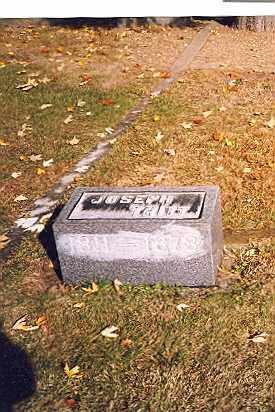 TRITT, JOSEPH - Tuscarawas County, Ohio   JOSEPH TRITT - Ohio Gravestone Photos