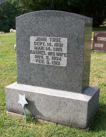 TRUE, RACHEL - Tuscarawas County, Ohio   RACHEL TRUE - Ohio Gravestone Photos