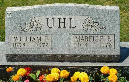 UHL, WILLIAM E. - Tuscarawas County, Ohio | WILLIAM E. UHL - Ohio Gravestone Photos