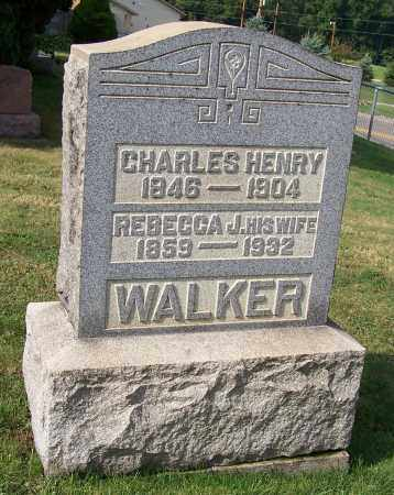 WALKER, CHARLES HENRY - Tuscarawas County, Ohio | CHARLES HENRY WALKER - Ohio Gravestone Photos