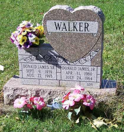 WALKER, DONALD JAMES JR. - Tuscarawas County, Ohio | DONALD JAMES JR. WALKER - Ohio Gravestone Photos