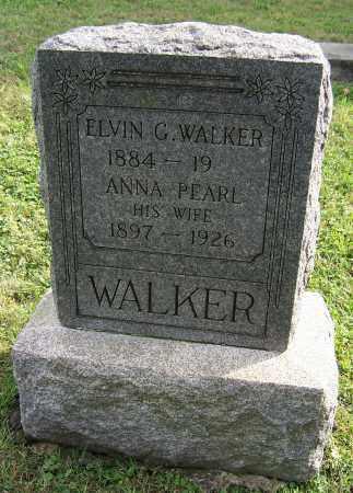 WALKER, ELVIN G. - Tuscarawas County, Ohio | ELVIN G. WALKER - Ohio Gravestone Photos
