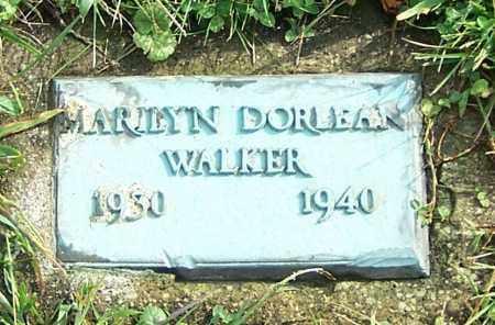 WALKER, MARILYN DORLEAN - Tuscarawas County, Ohio   MARILYN DORLEAN WALKER - Ohio Gravestone Photos