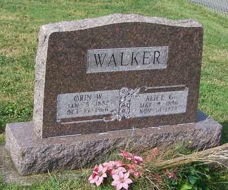 WALKER, ALICE G. - Tuscarawas County, Ohio | ALICE G. WALKER - Ohio Gravestone Photos