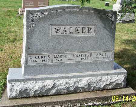 WALKER, W. CURTIS - Tuscarawas County, Ohio | W. CURTIS WALKER - Ohio Gravestone Photos