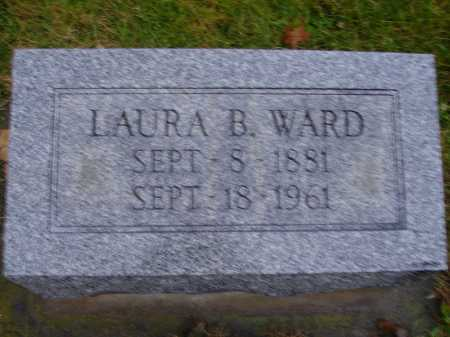 WARD, LAURA B. - Tuscarawas County, Ohio | LAURA B. WARD - Ohio Gravestone Photos