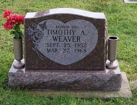 WEAVER, TIMOTHY A. - Tuscarawas County, Ohio | TIMOTHY A. WEAVER - Ohio Gravestone Photos